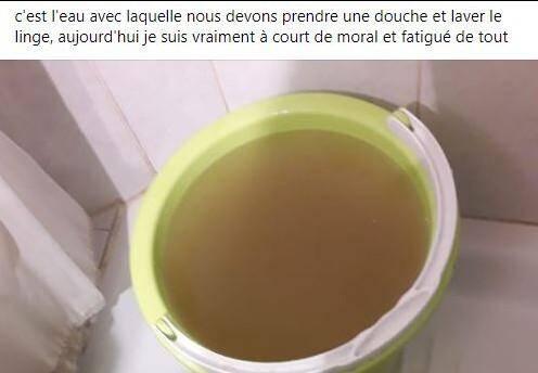 Publication Facebook d'une habitante de Tende le 27 octobre.