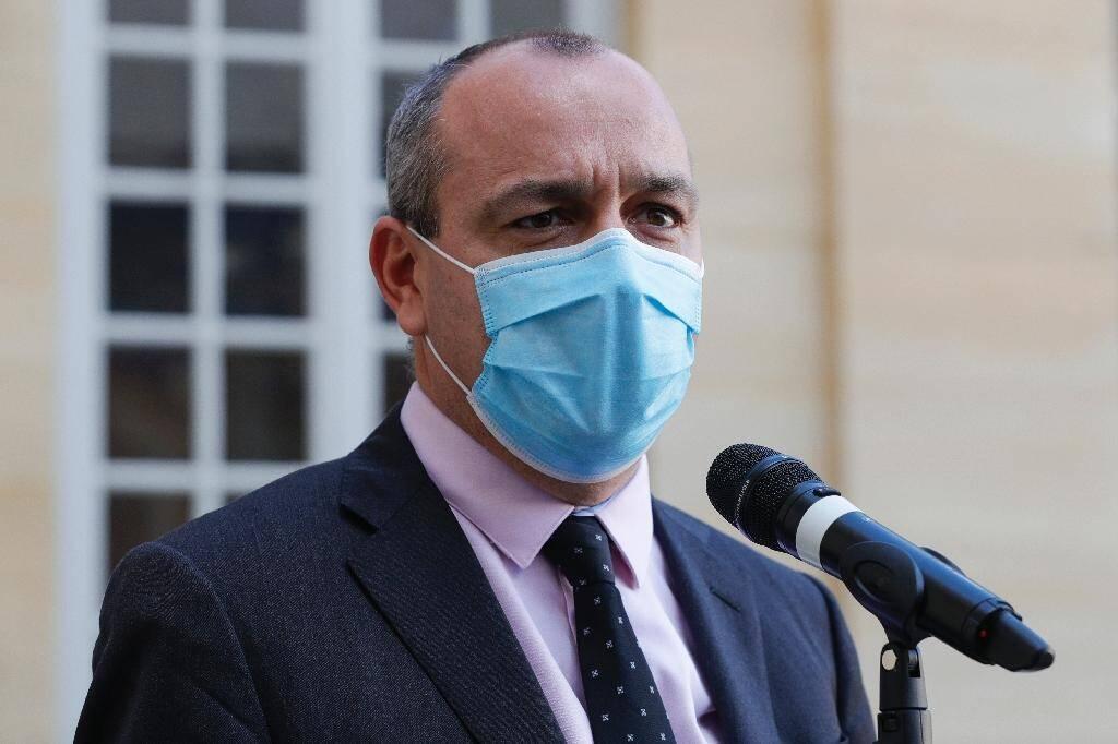 Laurent Berger (CFDT) le 26 octobre 2020 à Paris