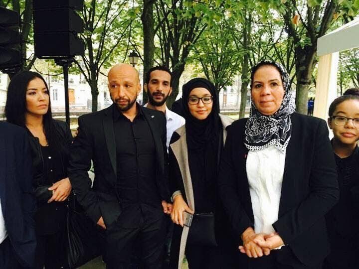 L'attentat de Notre-Dame renvoie Falitifa, Ali, Said, Hanane Charrihi (ici avec Latifa Ibn Ziaten, la mère du militaire assassiné par Mohamed Merah) aux heures noires du 14 juillet 2016.