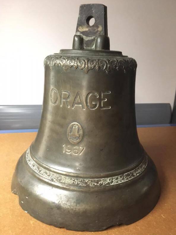La nouvelle cloche sera identique à celle qui a navigué durant 40 ans à borde de l'Orage.