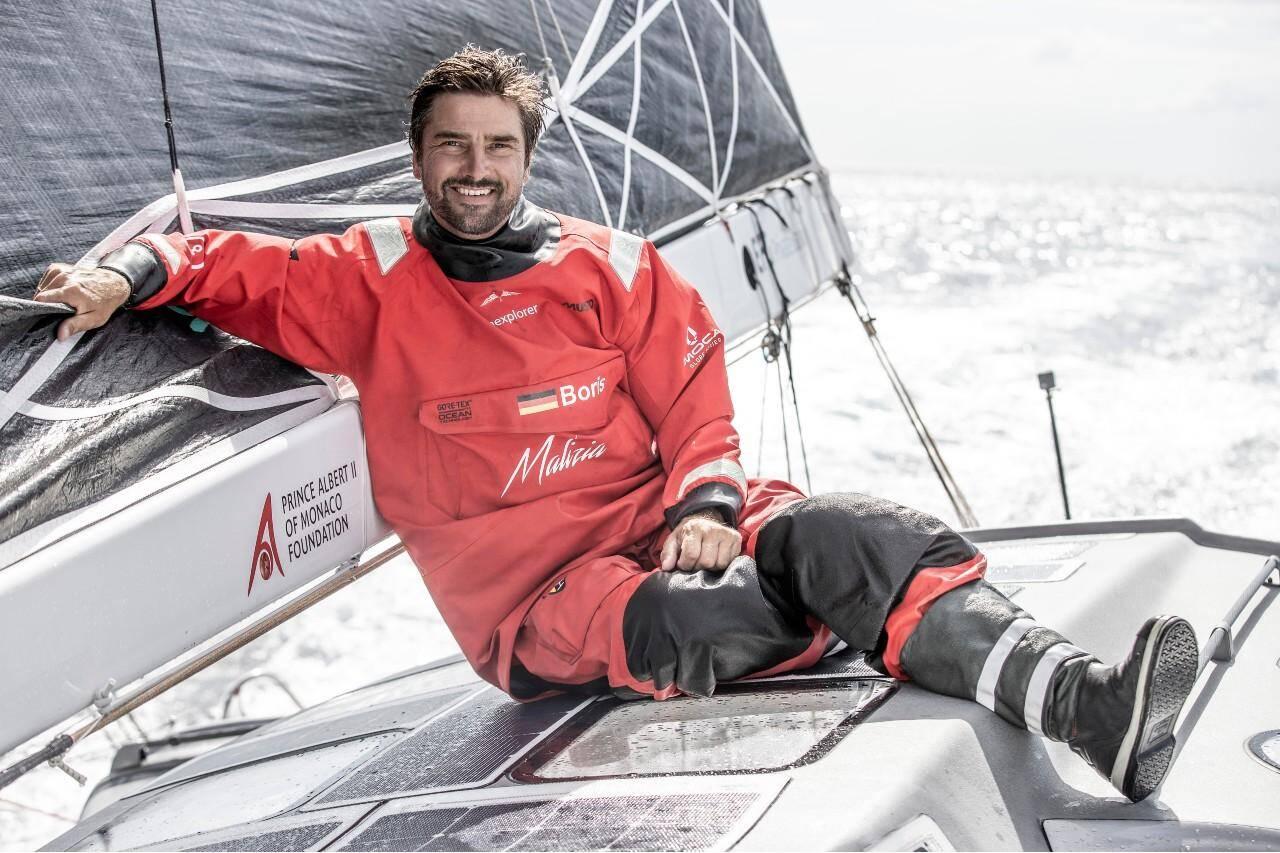 Le skipper allemand Boris Hermann rêvait de cette épreuve depuis ses 16 ans.