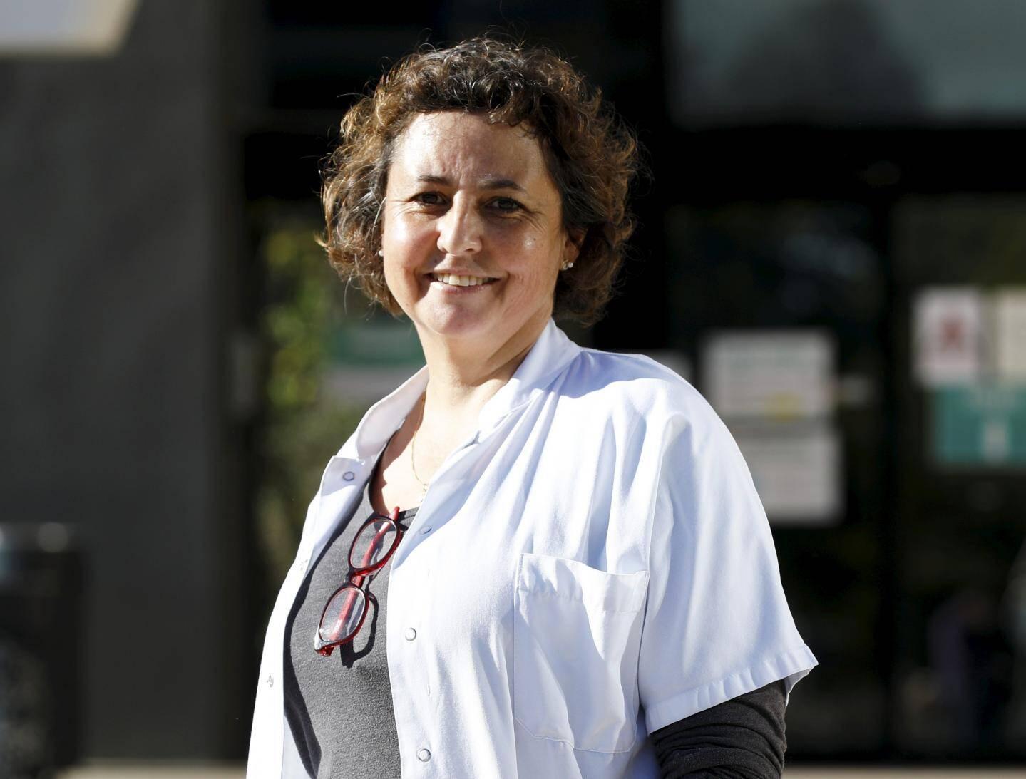 Valérie Créniaut est infirmière au centre hospitalier de Grasse depuis bientôt 30 ans.