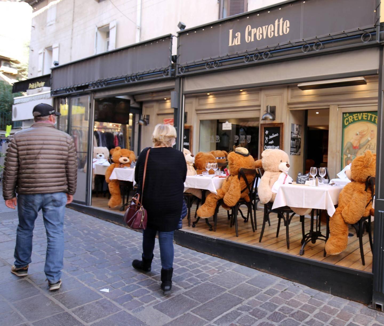 """Le restaurant La Crevette a trouvé de nouveaux """"clients"""""""