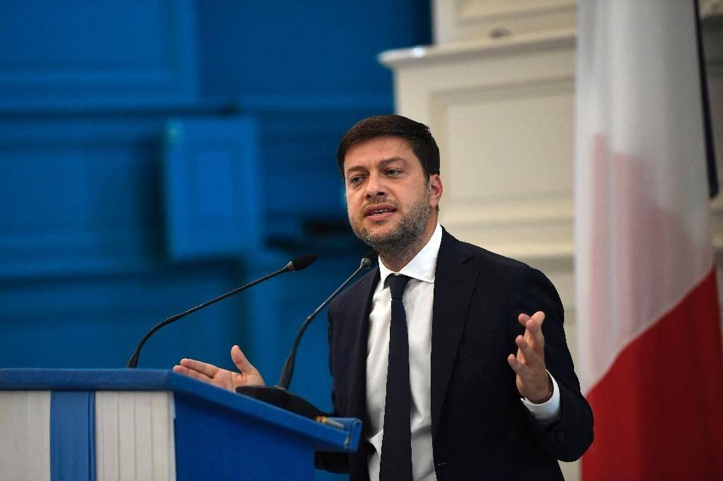 Conférencde de presse de Benoit Payan, premier adjoint à la mairie de Marseille, le 24 septembre 2020