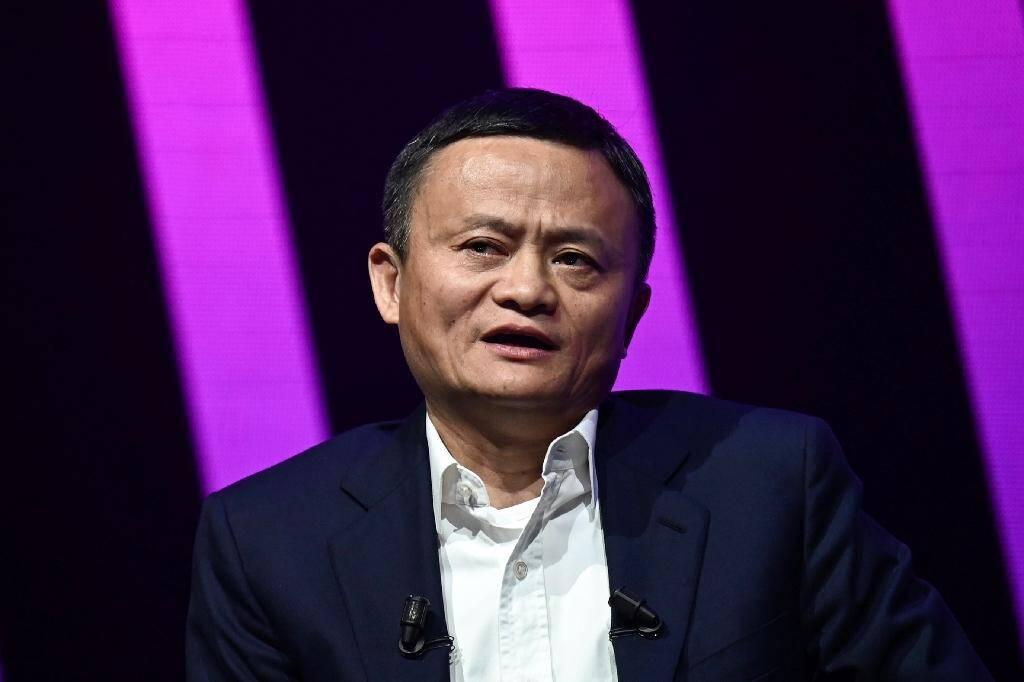 Jack Ma, le 16 mai 2019 à Paris