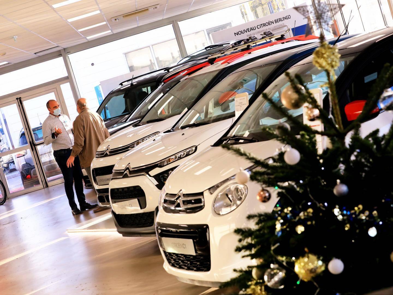 À l'aube des fêtes de Noël, les showrooms varois (comme ici à Citroën Gemy Toulon), fermés pendant le reconfinement, reprennent vie.