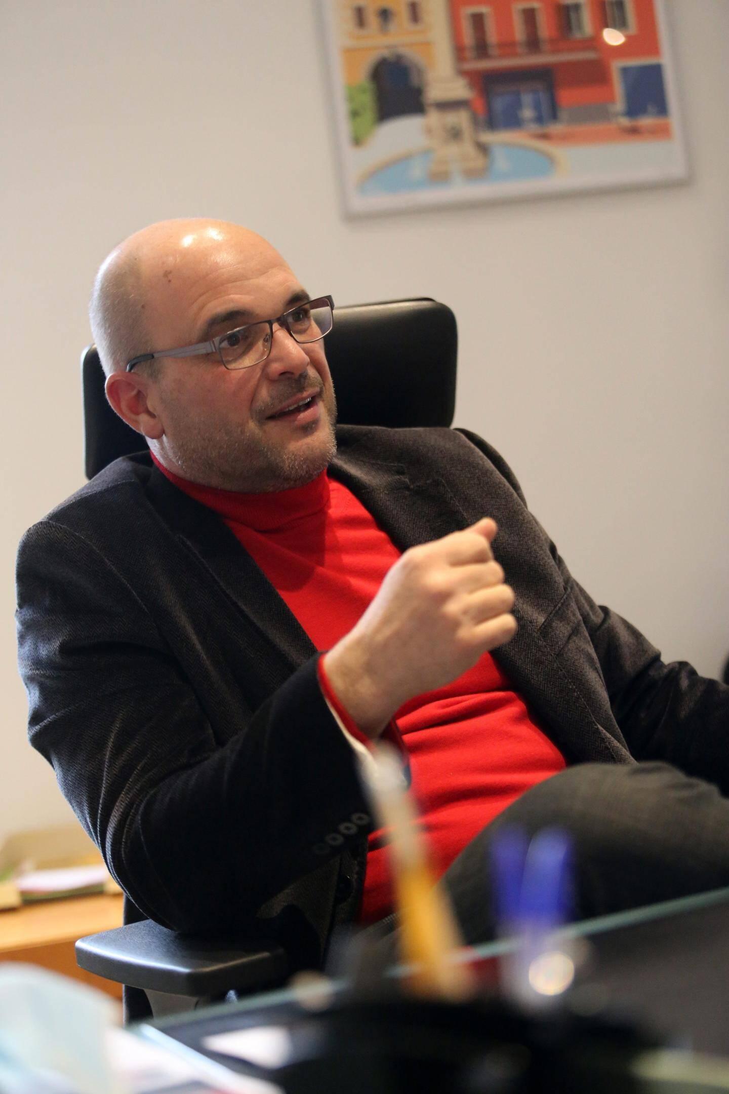 Le maire, Alain Ravanello.