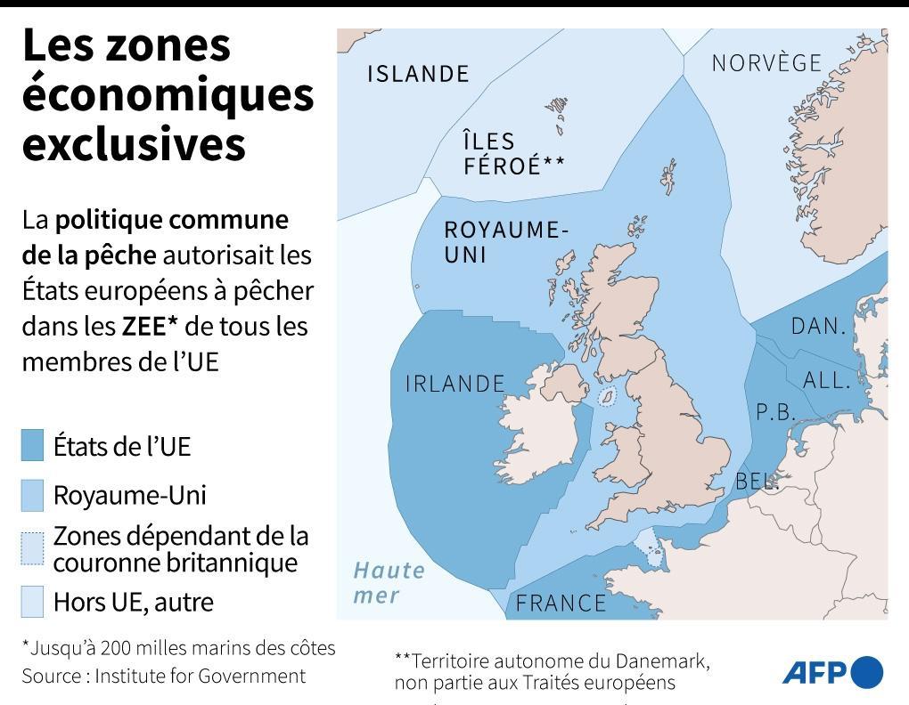 Les zones économiques exclusives européennes