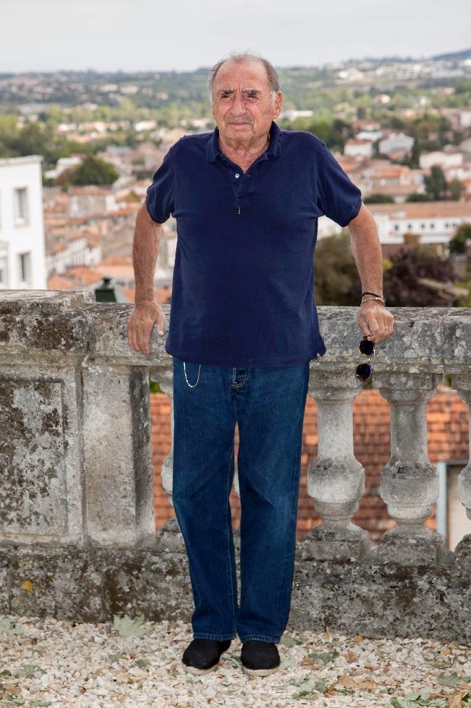 L'acteur Claude Brasseur le 27 août 2015 à Angoulême