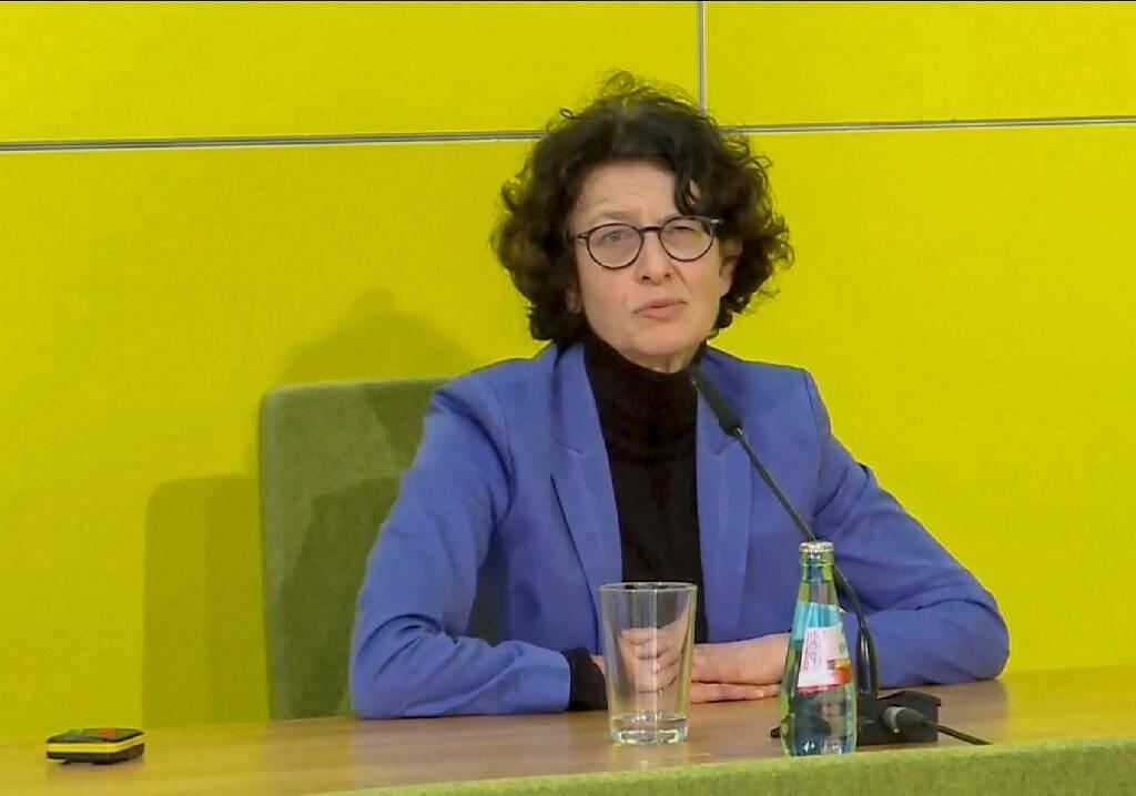 La chercheuse et cofondatrice de BioNTech, Ozlem Tureci, à Mayence (Allemagne), le 22 décembre 2020