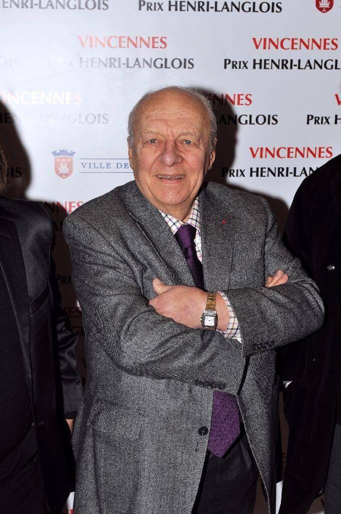 Le pianiste français Claude Bolling le 31 janvier 2011 à Vincennes (Val-de-Marne)