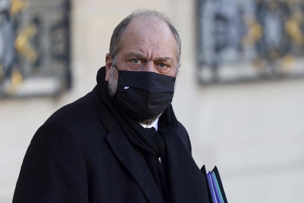Le garde des Sceaux Eric Dupond-Moretti le 18 novembre 2020 à Paris