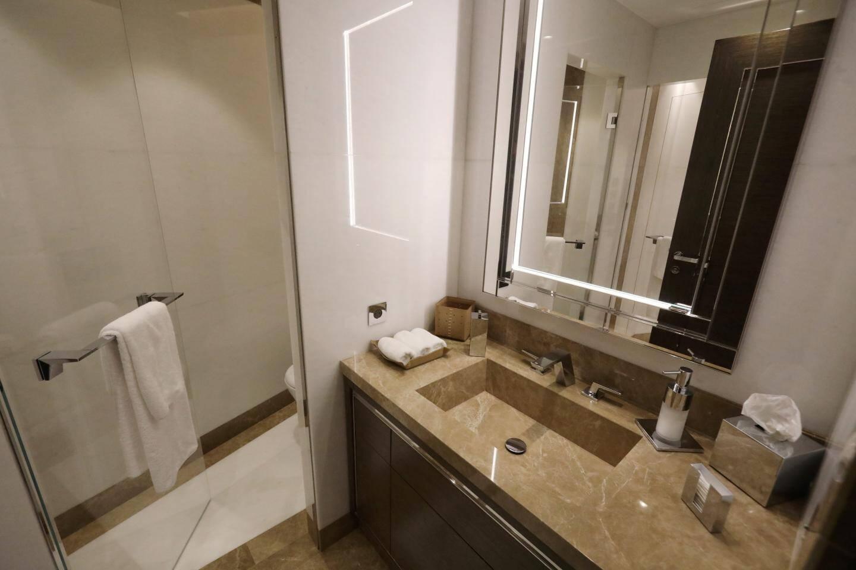 Un appartement témoin situé à la villa Florida montre à quoi ressembleront les résidences privées.