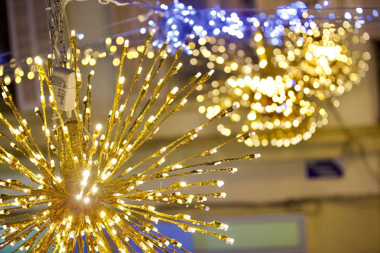 Illuminations de Noël à Saint-Raphaël.