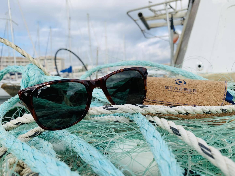 Les filets récoltés par l'Apam sont transformés en Espagne... en lunettes !