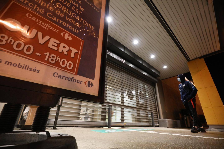 Avec le couvre-feu, les derniers clients ne peuvent plus rentrer à partir de 17 h 50.