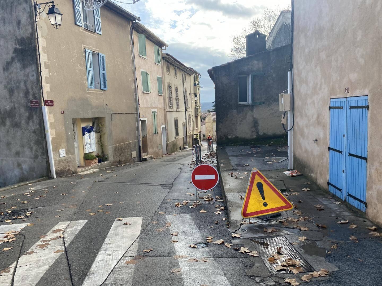 La rue Landrin interdite dans les deux sens pendant les travaux.