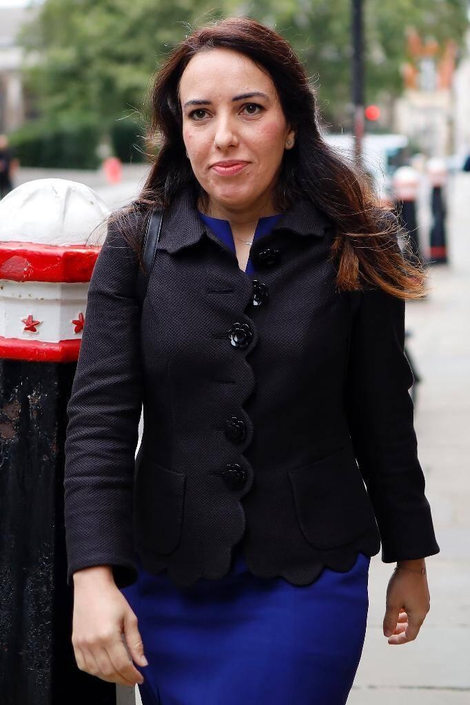 L'avocate Stella Moris, avec qui Julian Assange a eu deux enfants, à Londres le 8 septembre 2020