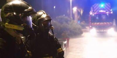 Des restaurants de la promenade des Flots bleus partent en fumée à Saint-Laurent-du-Var