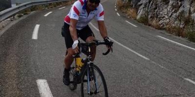 À 60 ans, ce cycliste azuréen relie Mandelieu au mont Ventoux en 22 heures (et c'est un exploit)