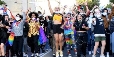 Succès de la première Marche des fiertés de Toulon