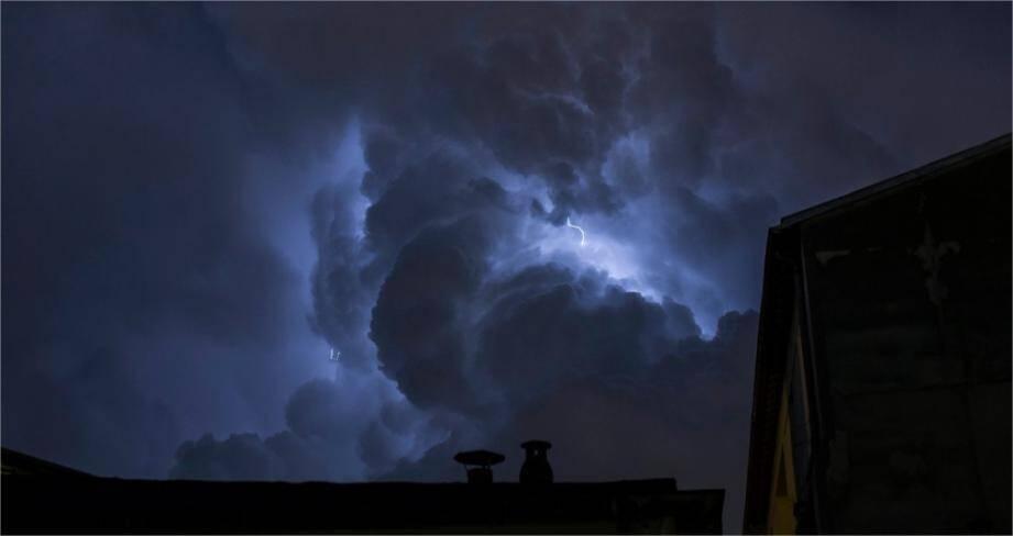 Le Var a été placé en vigilance jaune pour le risque d'orages.