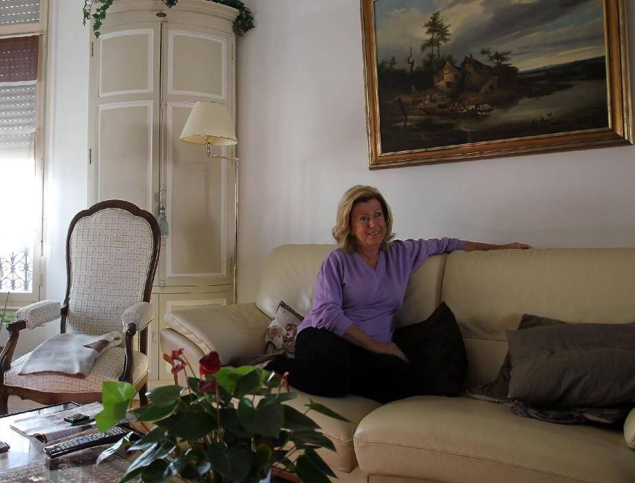 Fabienne Godart, 65 ans (6 + 5 = 11), pourtant rationnelle, «commence à se poser des questions au sujet du 11 ». (Photos Serge Haouzi)