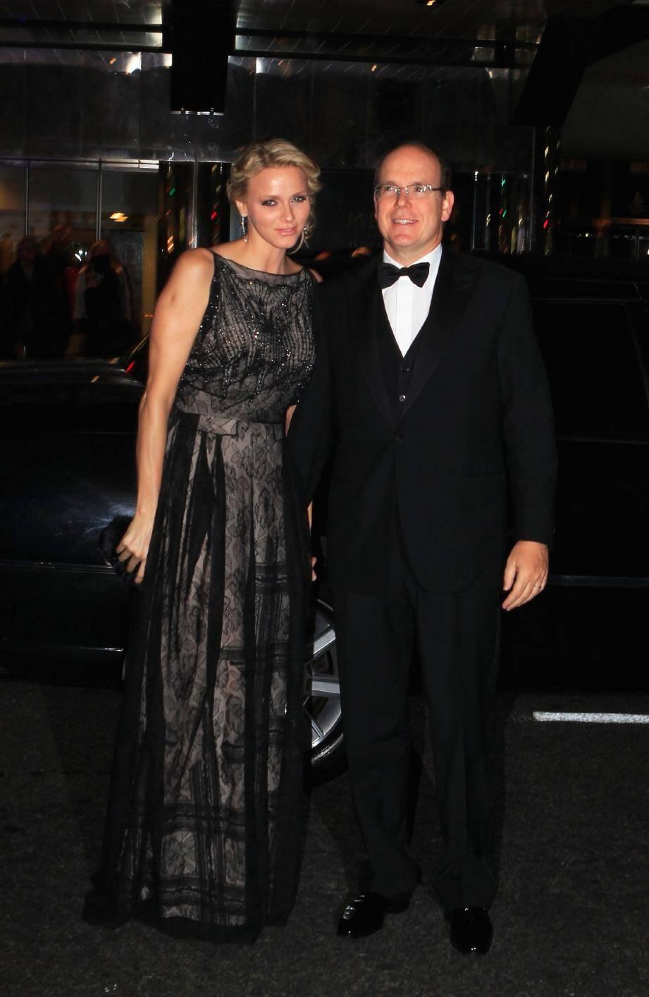 Le 1er novembre dernier, le couple princier, à New York, avait déjà participé à une soirée avec de nombreux people , pour la Fondation Princesse Grace.