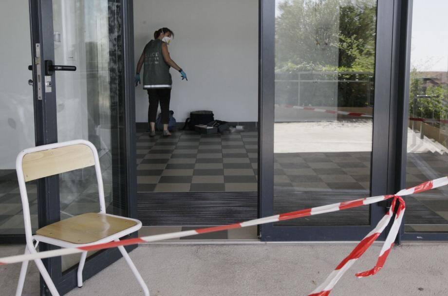 Le ou les voleurs ont dérobé du matériel informatique au cours de la nuit de lundi à mardi dans l'école de Ventabrun.