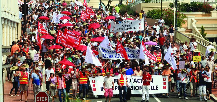 En juin 2012 a eu lieu une manifestation contre la réforme des retraites.C'est une divergence avec l'USM à ce sujet qui a présidé à la création de la F2SM.