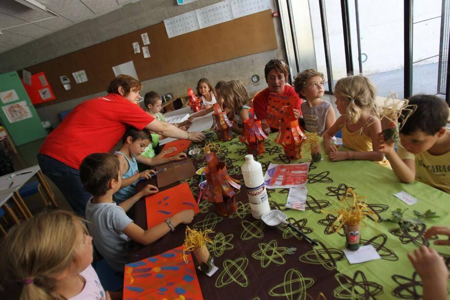 Les enfants seront notamment accueillis au Centre aéré de Mouans-Sartoux, la majorité des activités étant organisée dans les écoles même.