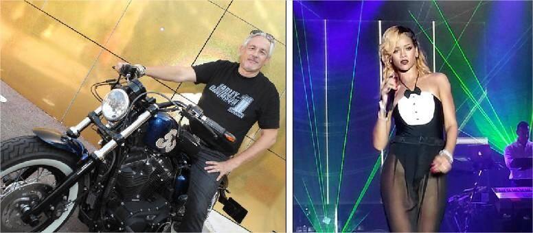 Pour le directeur artistique, Jean-René Palacio (à gauche), le bilan de cette saison est des plus positifs.La star du R'n'B Rihanna (à droite) s'est offert deux soirées au Sporting, imposant les lieux parmi les incontournables de la planète.