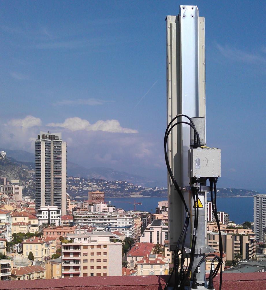 Grâce à ces antennes nouvelles générations qui ont remplacé les anciennes, la 4G pourra arroser toute la Principauté.