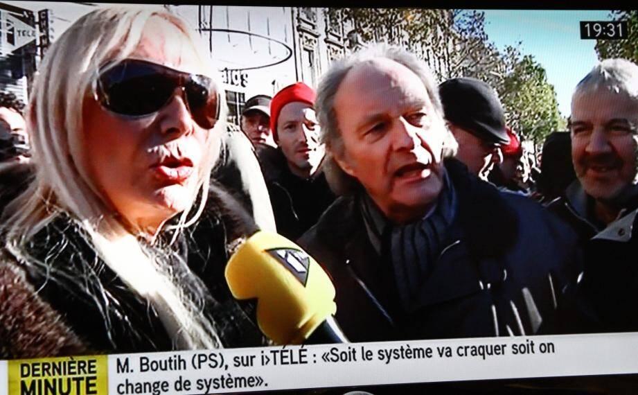 Liane d'Argelier sur iTele