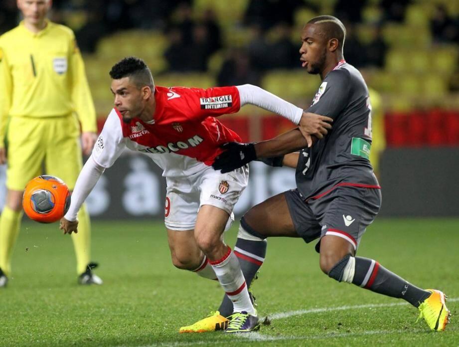 Rivière a inscrit le but qui a permis à l'AS Monaco de battre l'AC Ajaccio dimanche soir à Louis-II et rester au contact du PSG.