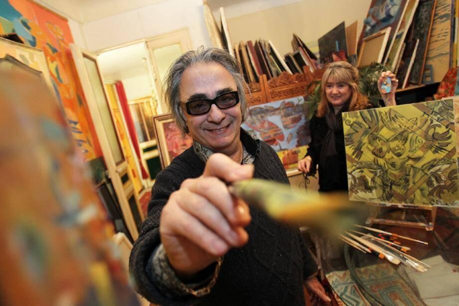 La carrière de Raymond Scarbonchi a pris un nouvel élan depuis qu'elle a été prise en mains par sa cousine Catherine Gonzalez-Scarbonchi.