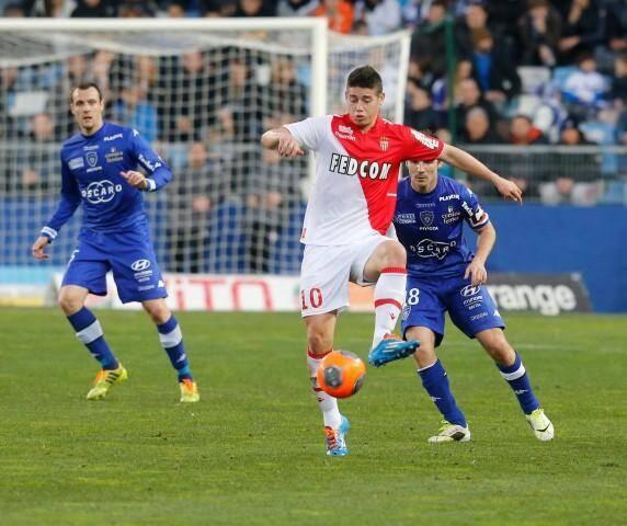 James Rodriguez a inscrit son premier doublé de la saison et fait chuter le SC Bastia