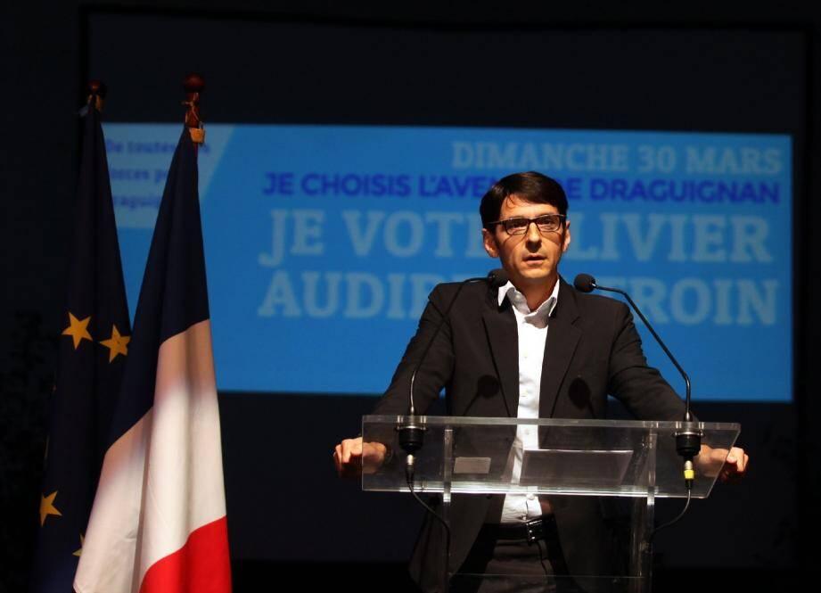 « Gérer, oser, proposer : un crime ? », s'est demandée la tête de liste UMP.