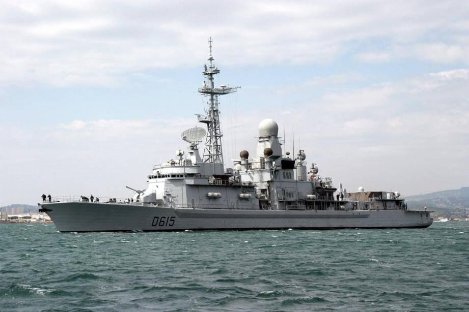 La frégate antiaérienne Jean-Bart est actuellement basée à Toulon.(DR)