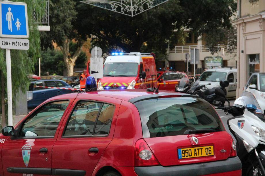 La fuite de gaz a eu lieu dans la rue Fersen, provoquant l'évacuation de tout le quartier.