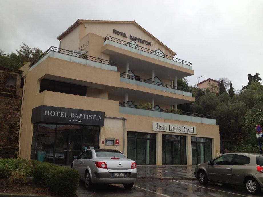 Hotel évacué au Lavandou