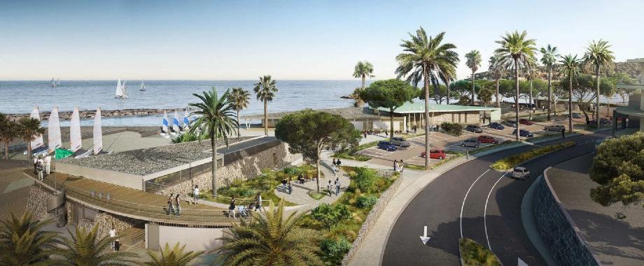 La construction d'une nouvelle base nautique entre Ponteil et Salis va permettre d'embellir tout un quartier .(DR)