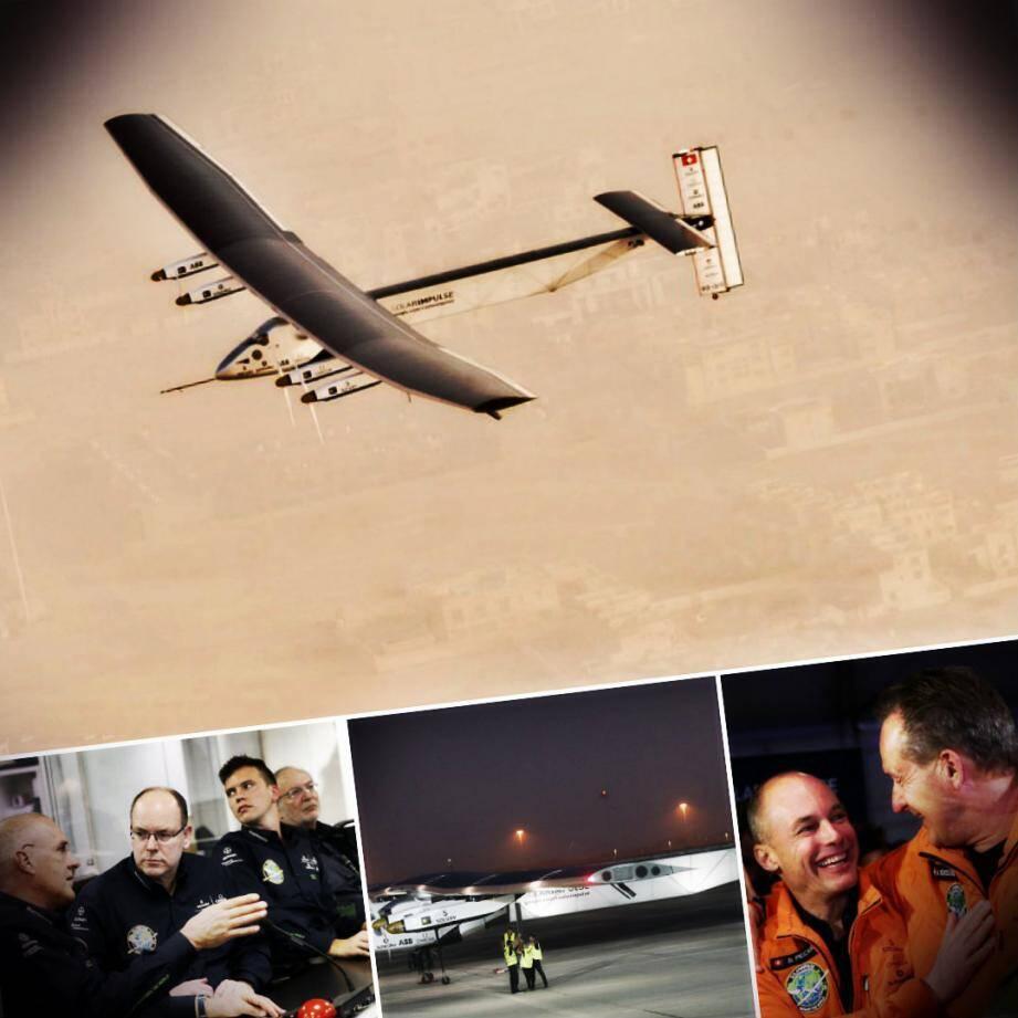 Le Solar Impulse 2 a entamé son tour du monde sans précédent ce lundi matin à Abu Dhabi