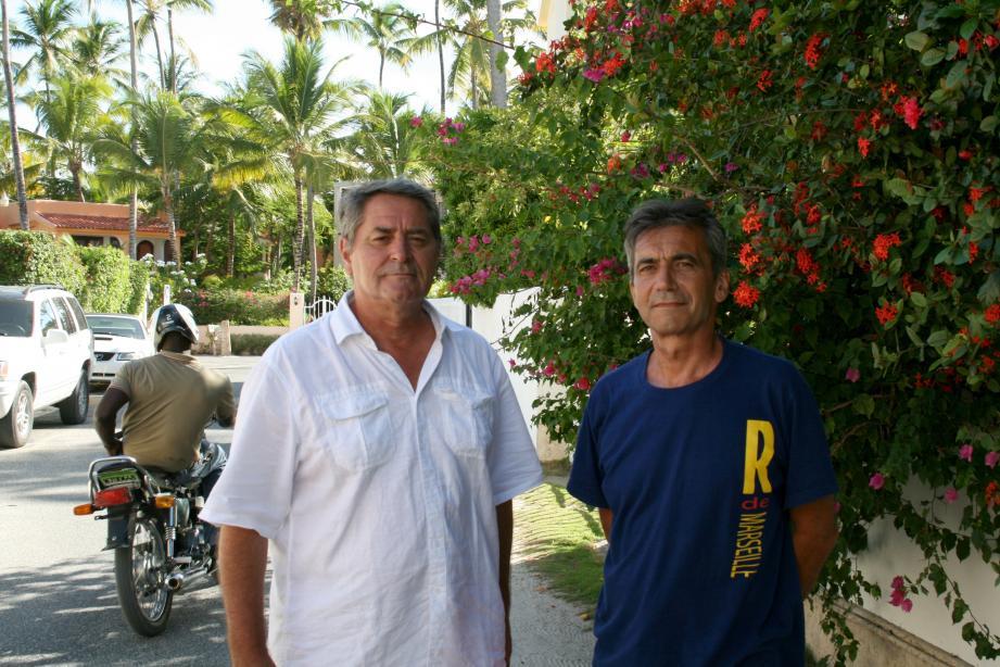 À l'instar des deux autres Français, Pascal Fauret et Bruno Odos (ici à Punta Cana en juillet 2014) sont placés sous contrôle judiciaire avec l'interdiction de quitter l'île dans l'attente du procès.