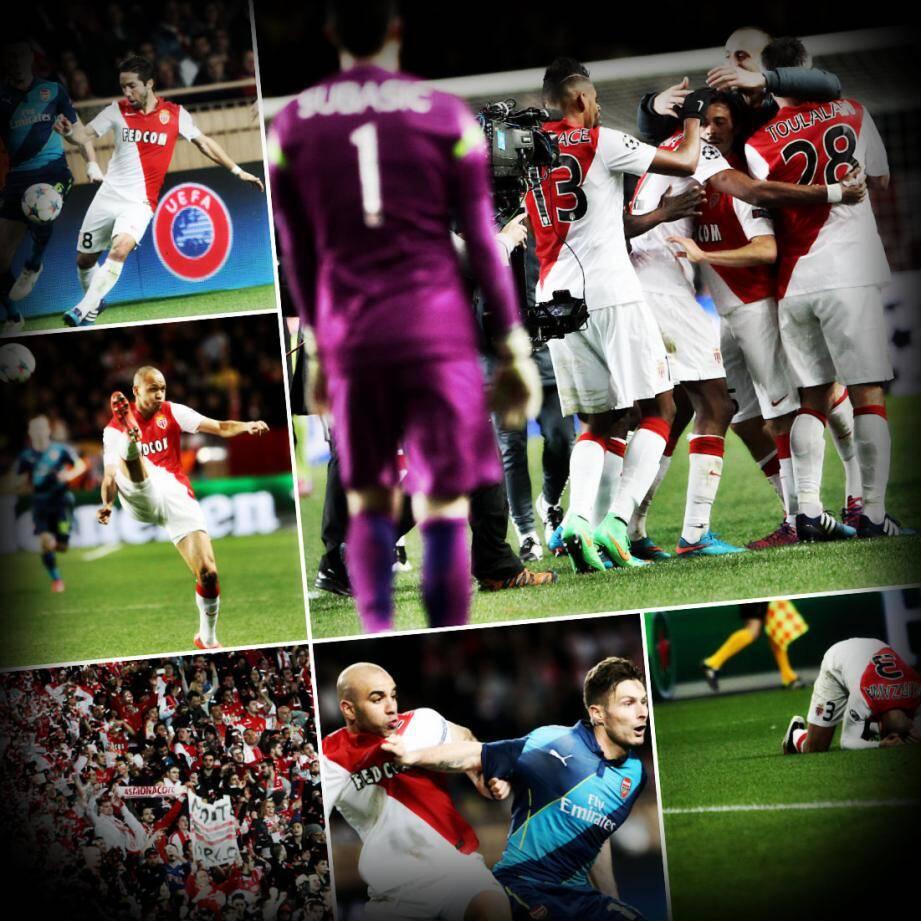C'est dans la douleur que l'AS Monaco décroche son billet pour les quarts de finale de la Ligue des Champions
