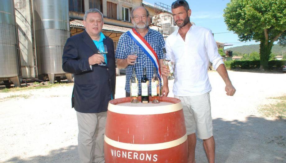 Le vin bio de Correns s'invite à l'Elysée