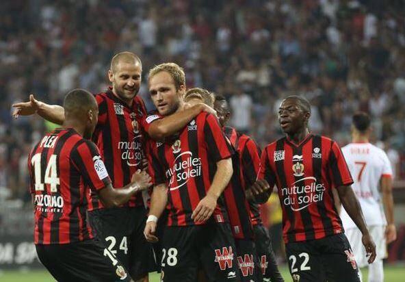 Valère Germain ouvre le score pour Nice