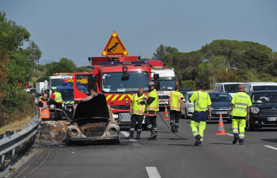 Accident Roquebrune-sur-Argens