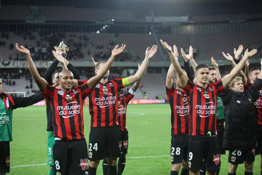 L'OGC Nice va très bien après ses victoires à Bastia et contre Bordeaux