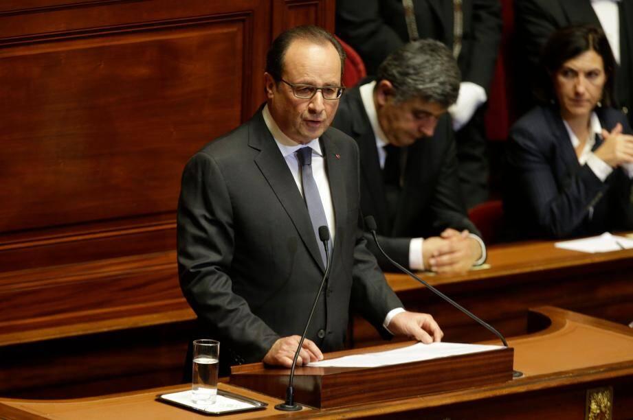 Hollande devant le Congrès